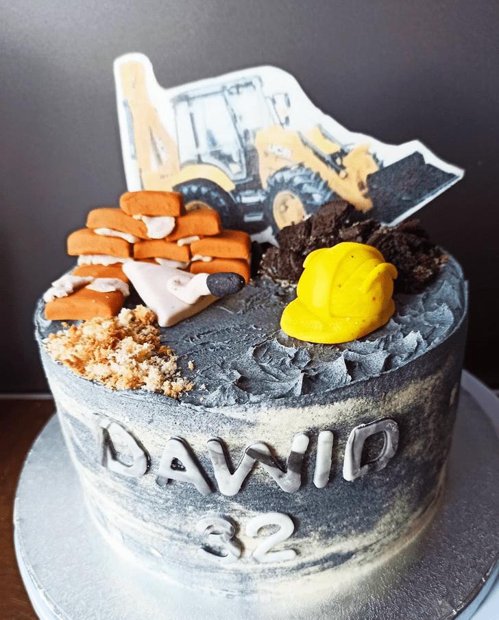 Divine JCB Cake