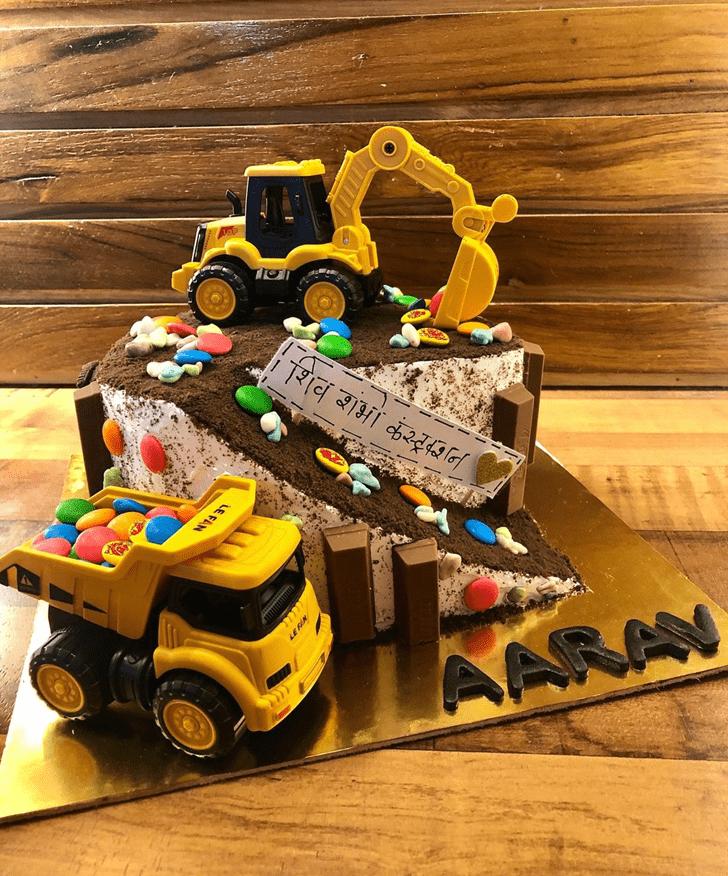 Fair JCB Cake