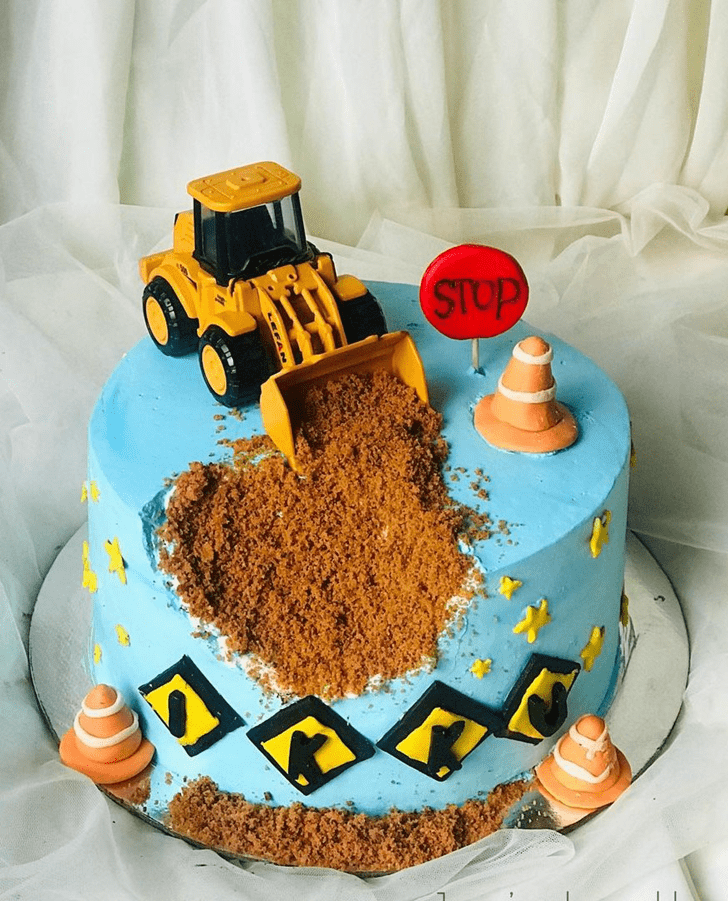 Grand JCB Cake
