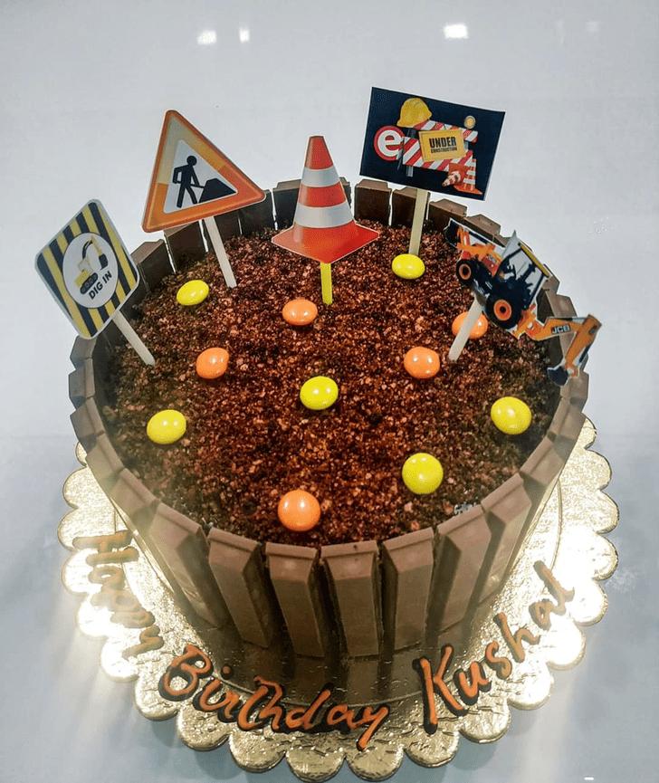 Ideal JCB Cake