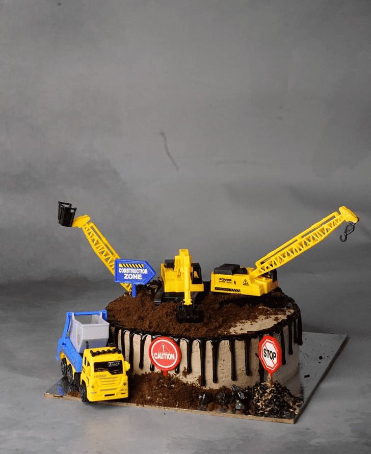 Magnetic JCB Cake