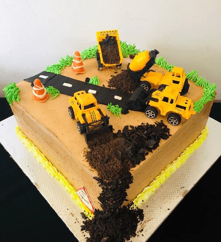 Magnificent JCB Cake