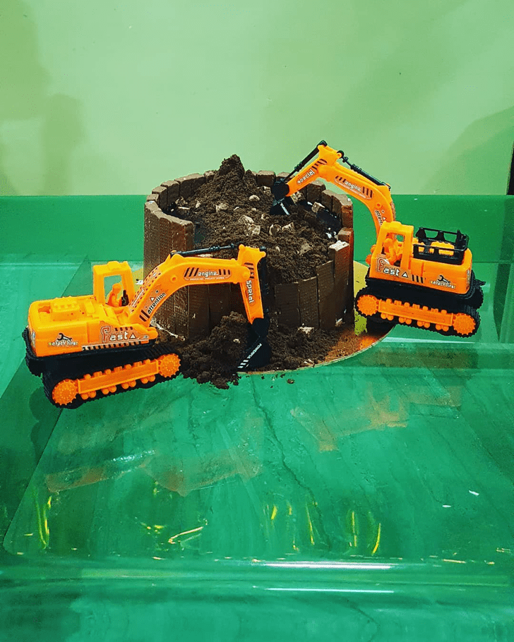 Marvelous JCB Cake