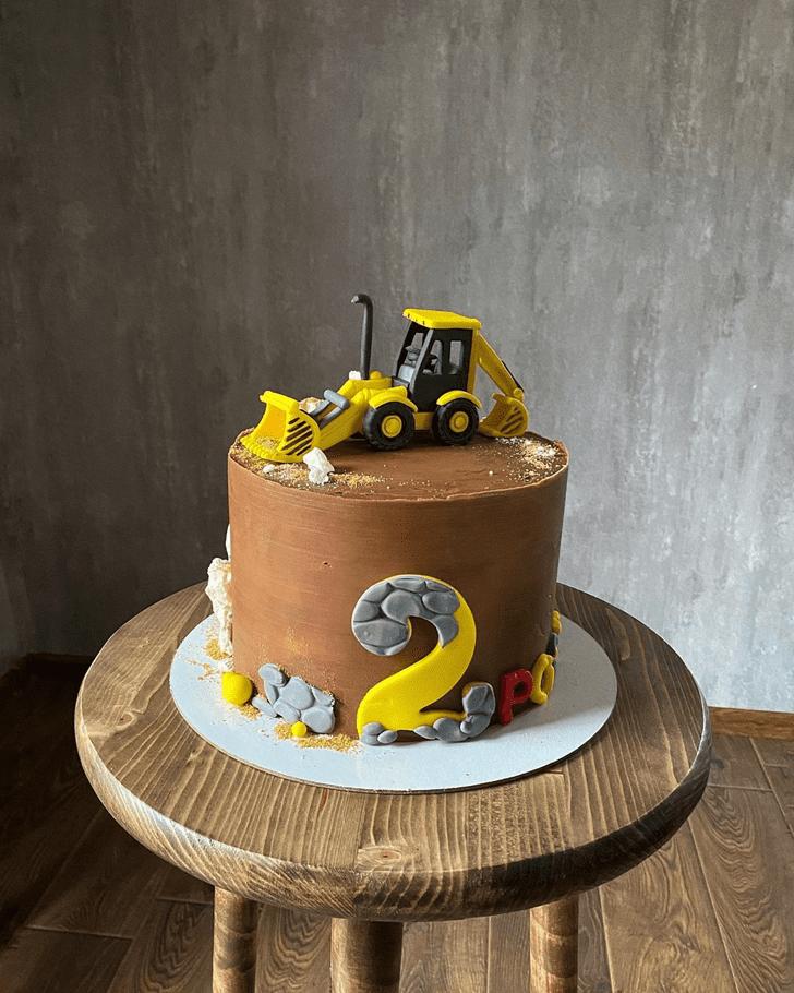 Nice JCB Cake