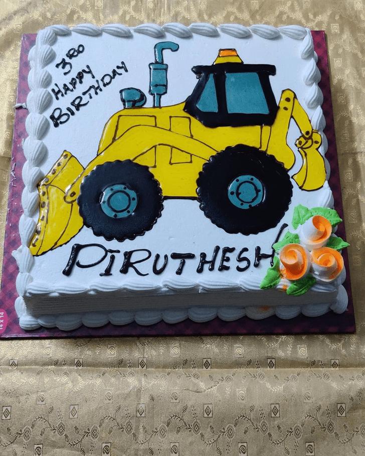 Splendid JCB Cake