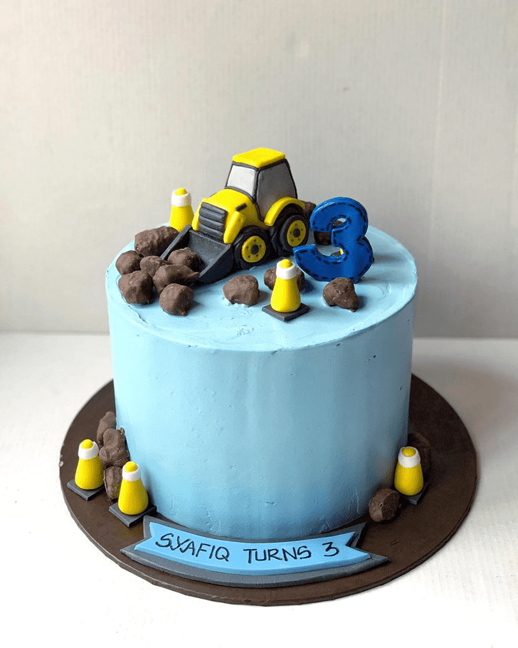 Superb JCB Cake