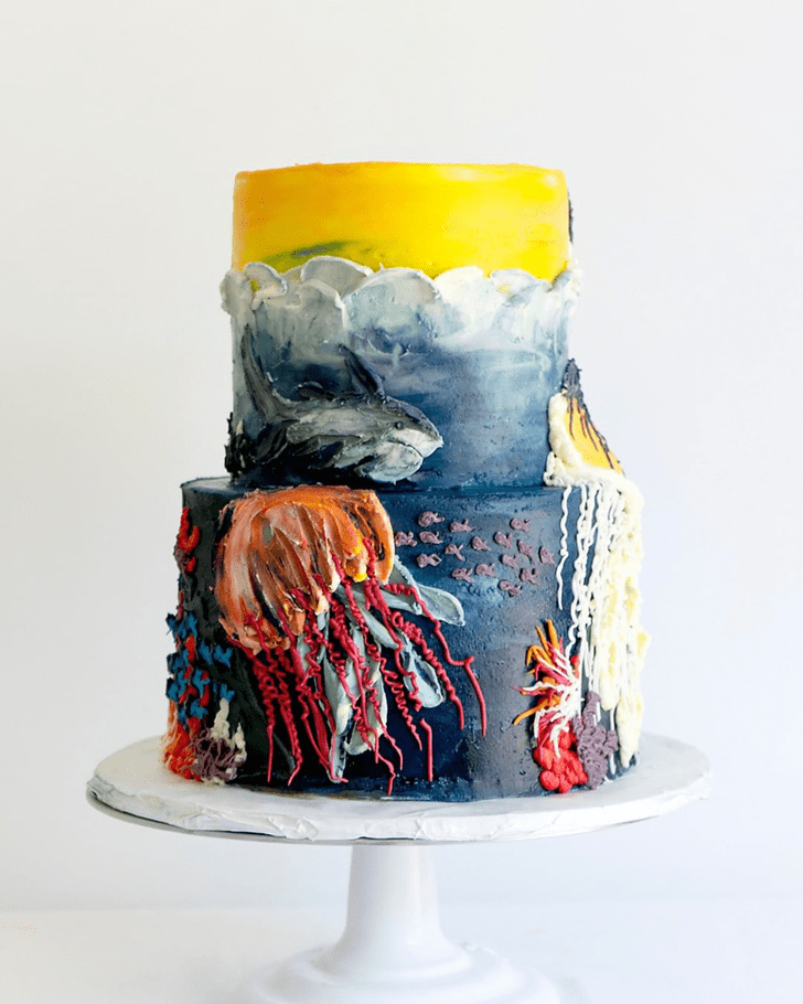 Admirable Jellyfish Cake Design