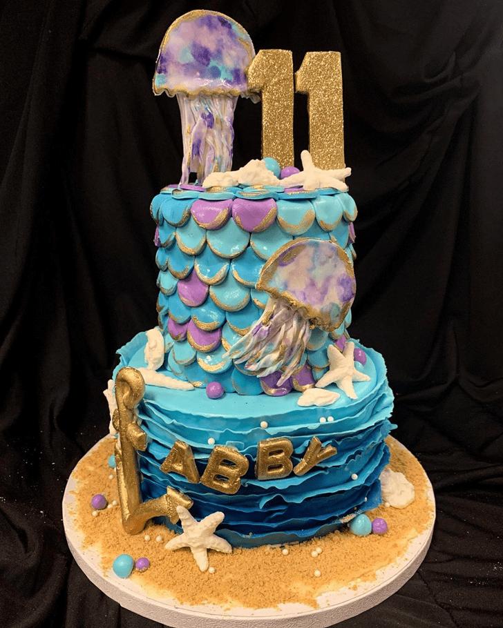 Alluring Jellyfish Cake