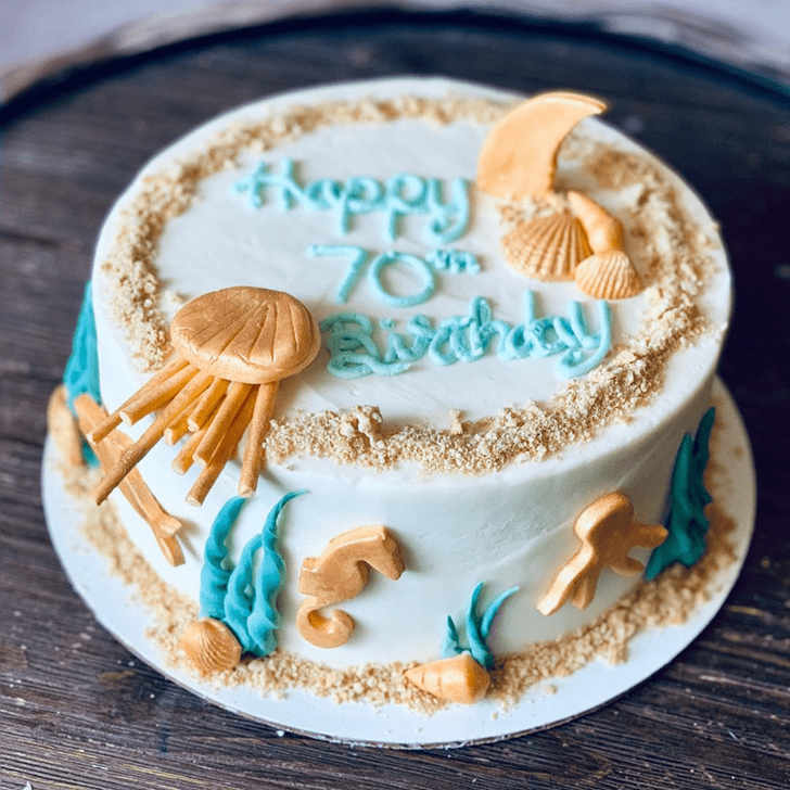 Delightful Jellyfish Cake