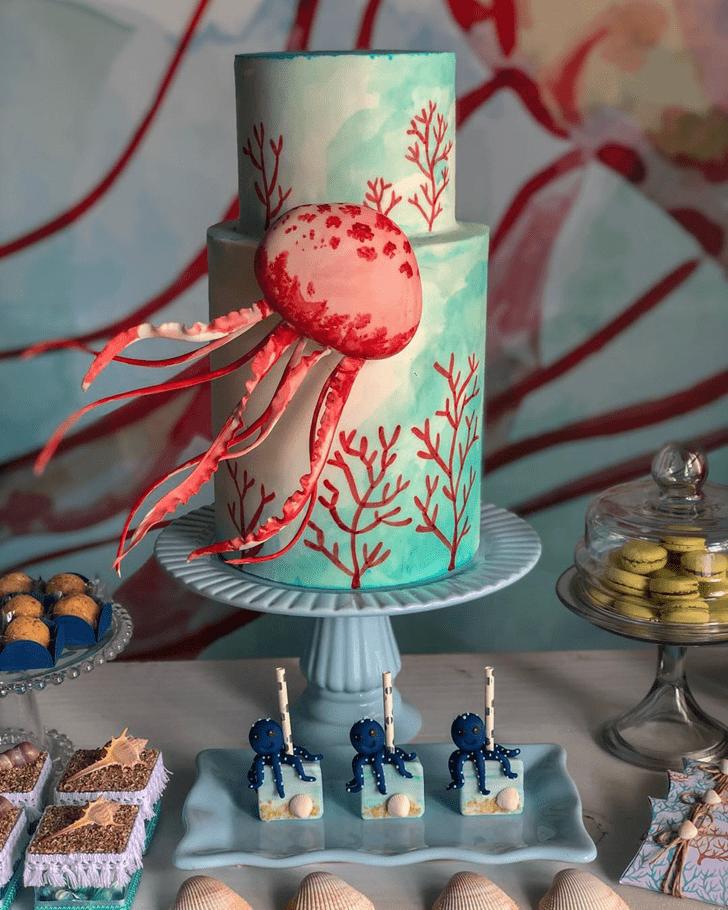 Magnificent Jellyfish Cake