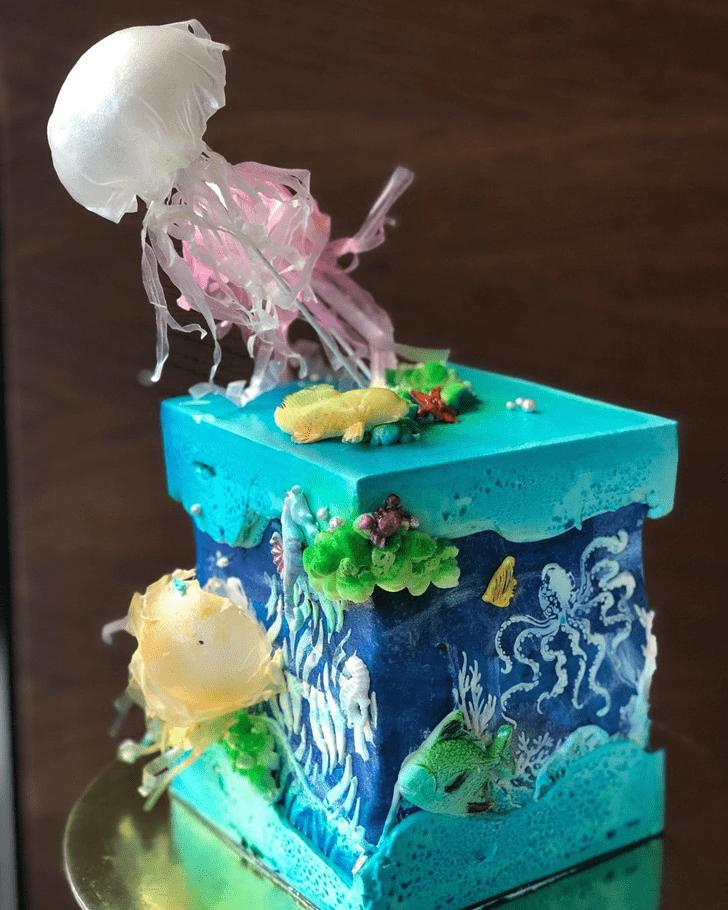 Marvelous Jellyfish Cake