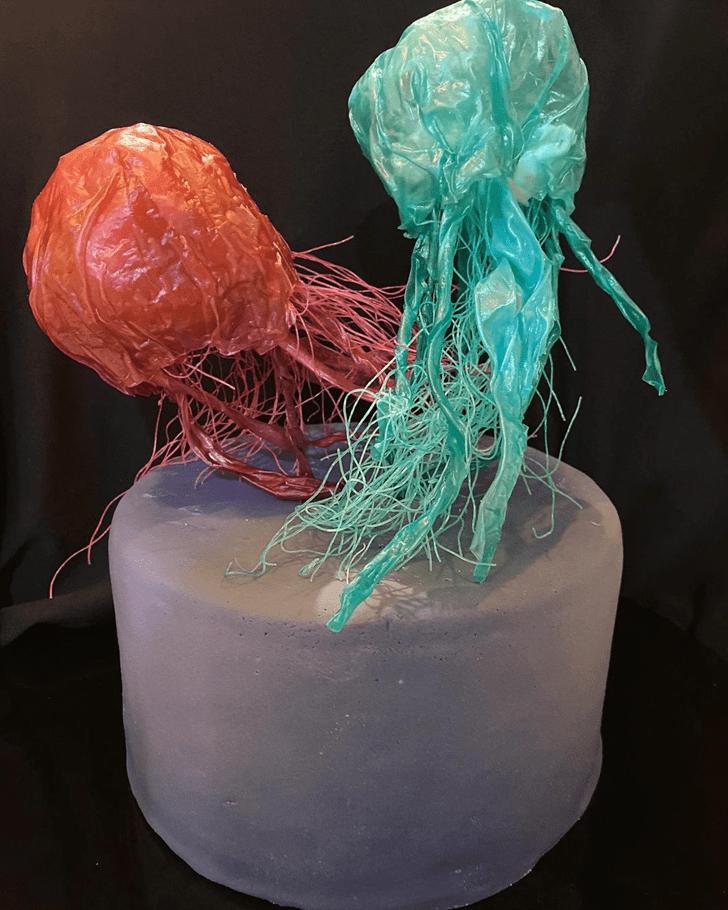 Slightly Jellyfish Cake