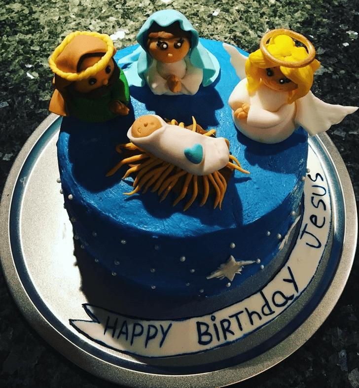 Alluring Jesus Cake