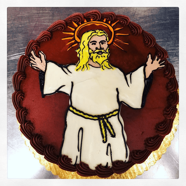 Bewitching Jesus Cake