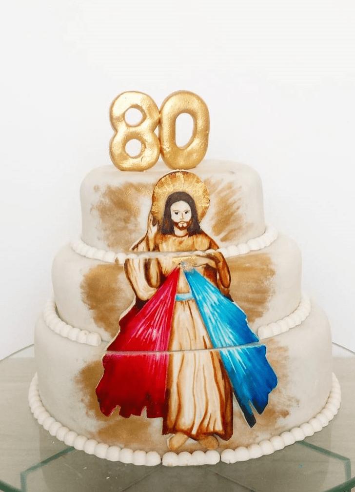 Classy Jesus Cake
