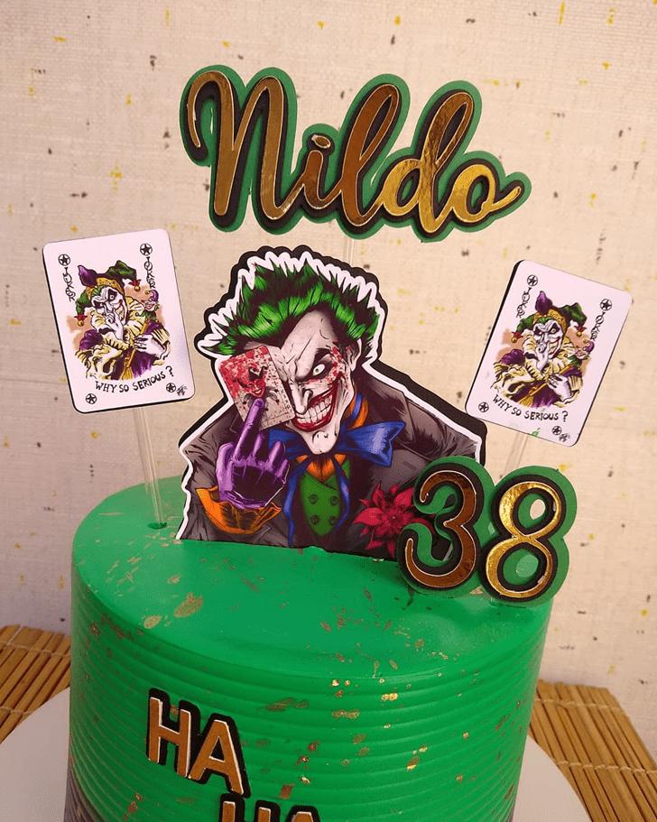 Comely Joker Cake