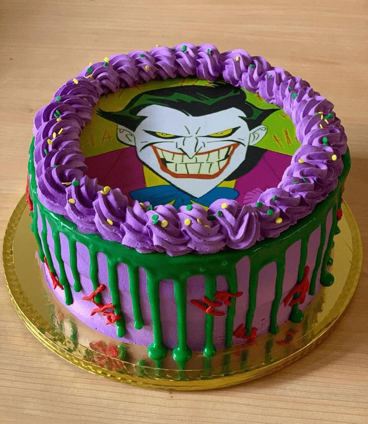 Cute Joker Cake