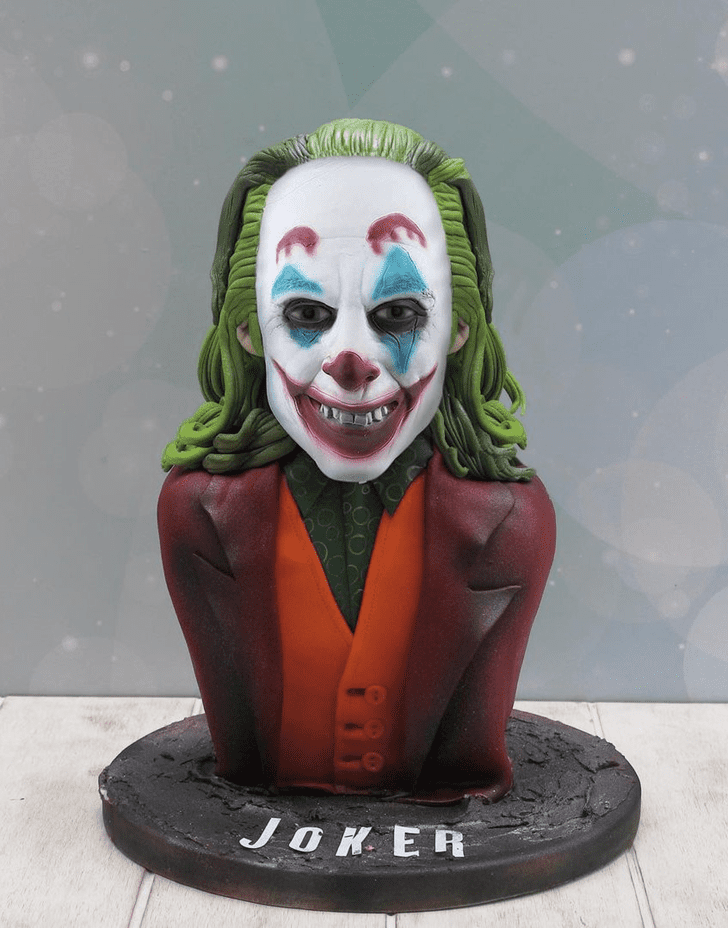 Dazzling Joker Cake