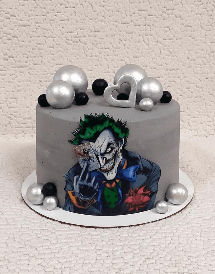 Delicate Joker Cake