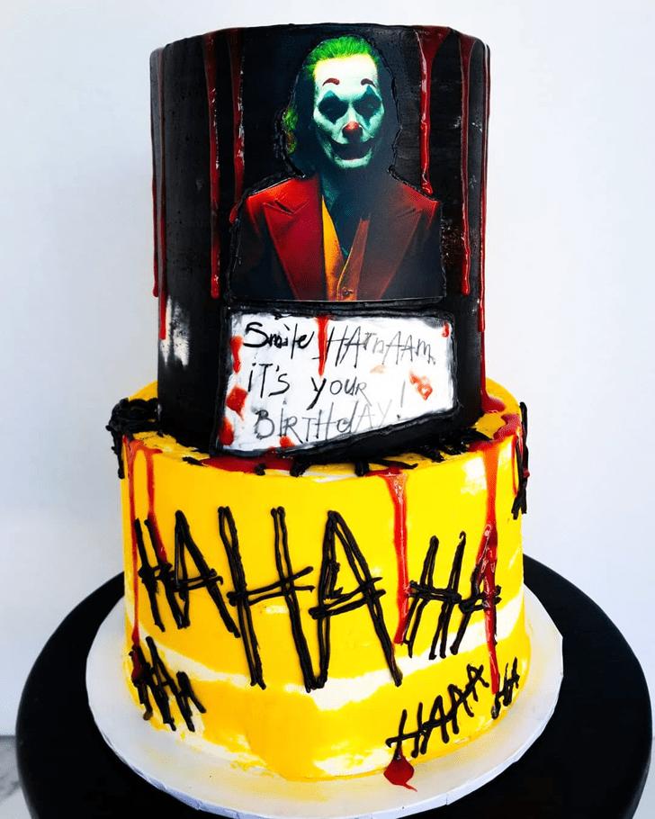Delightful Joker Cake