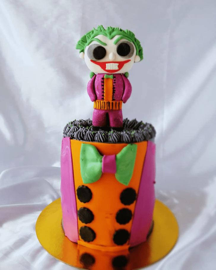 Enticing Joker Cake