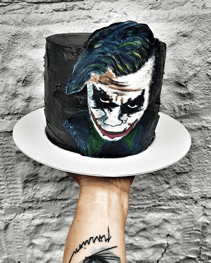 Fascinating Joker Cake