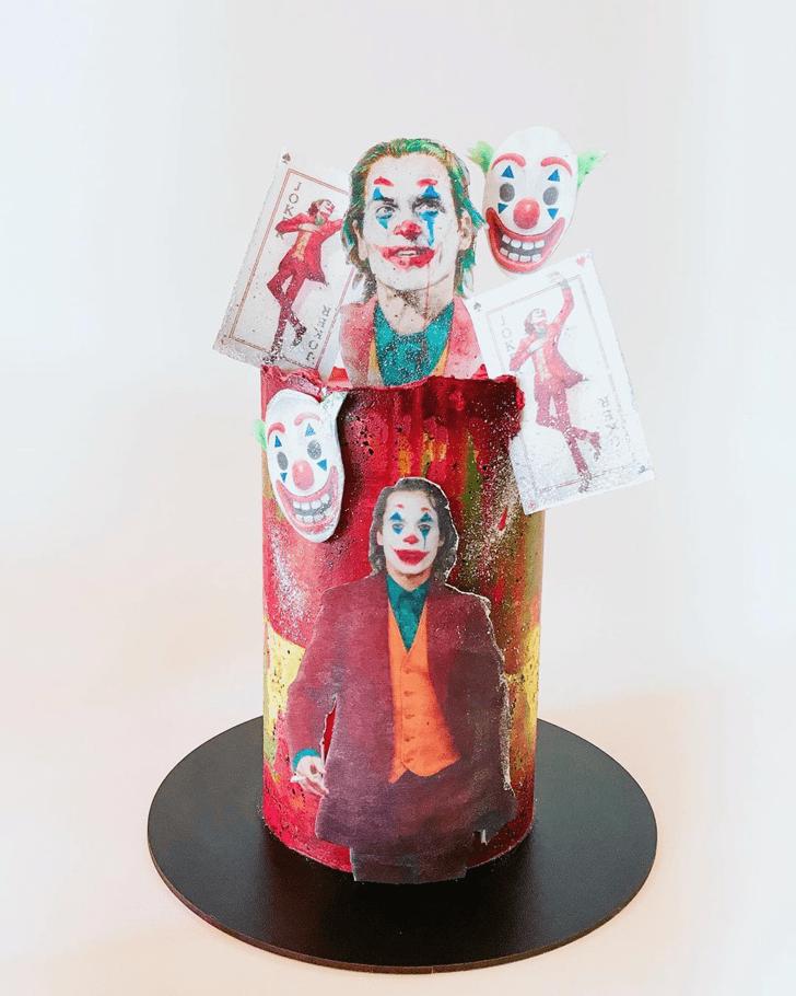 Handsome Joker Cake