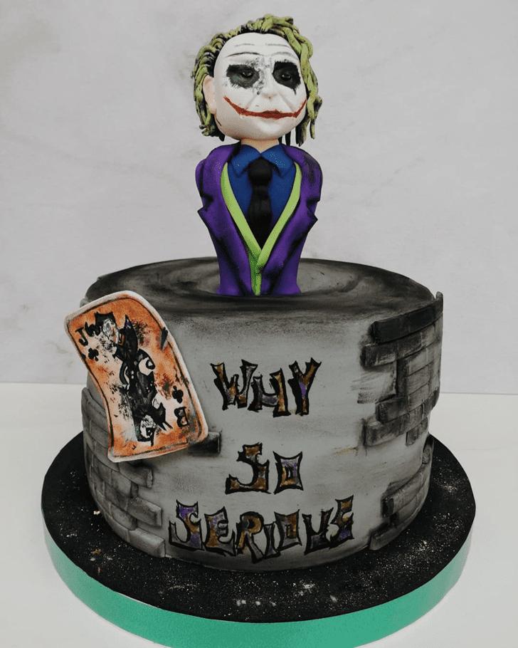 Magnetic Joker Cake