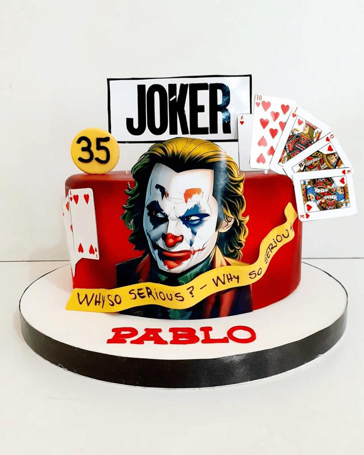 Magnificent Joker Cake