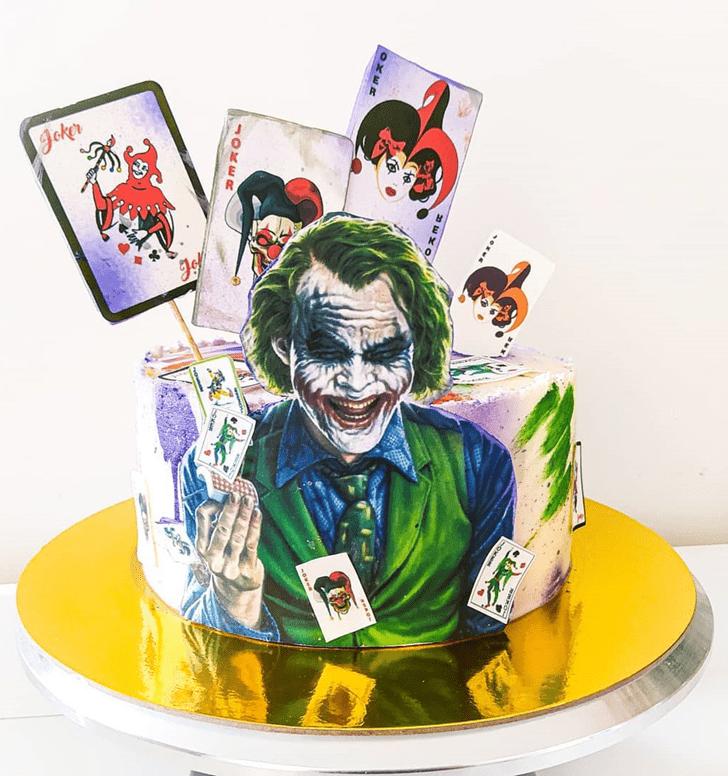 Mesmeric Joker Cake