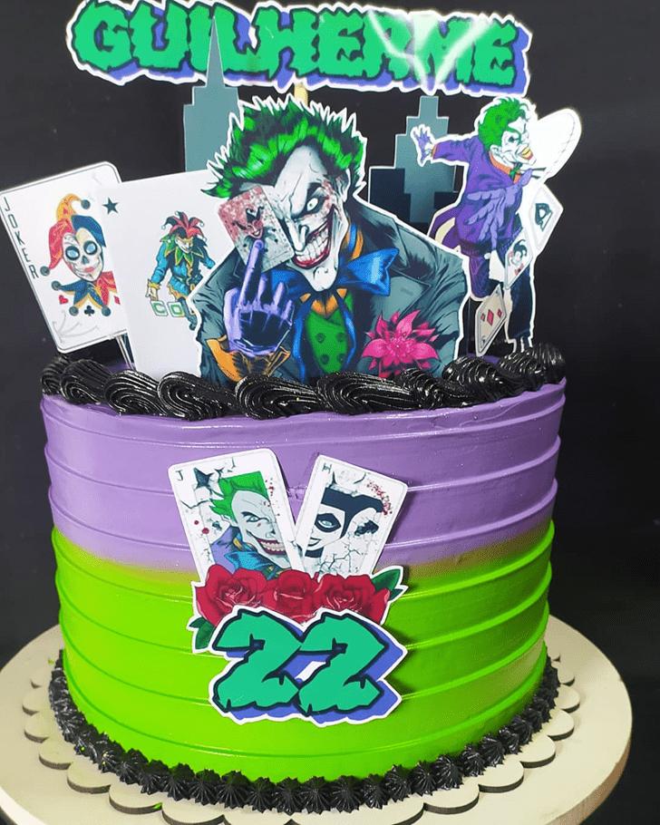 Nice Joker Cake