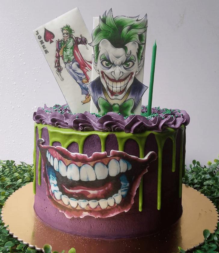 Pleasing Joker Cake