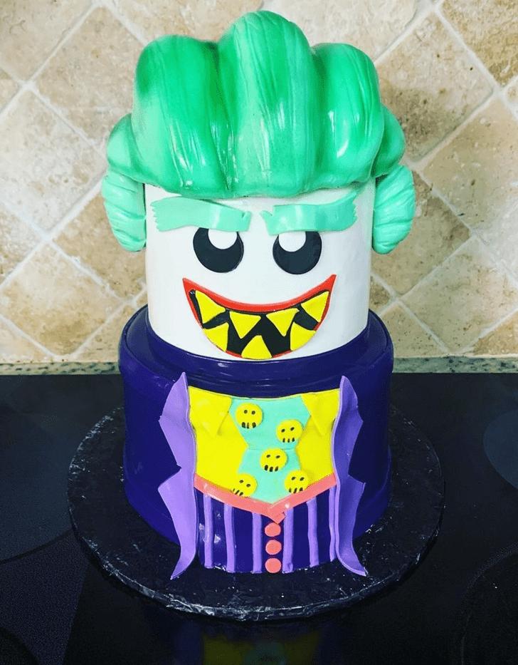 Pretty Joker Cake