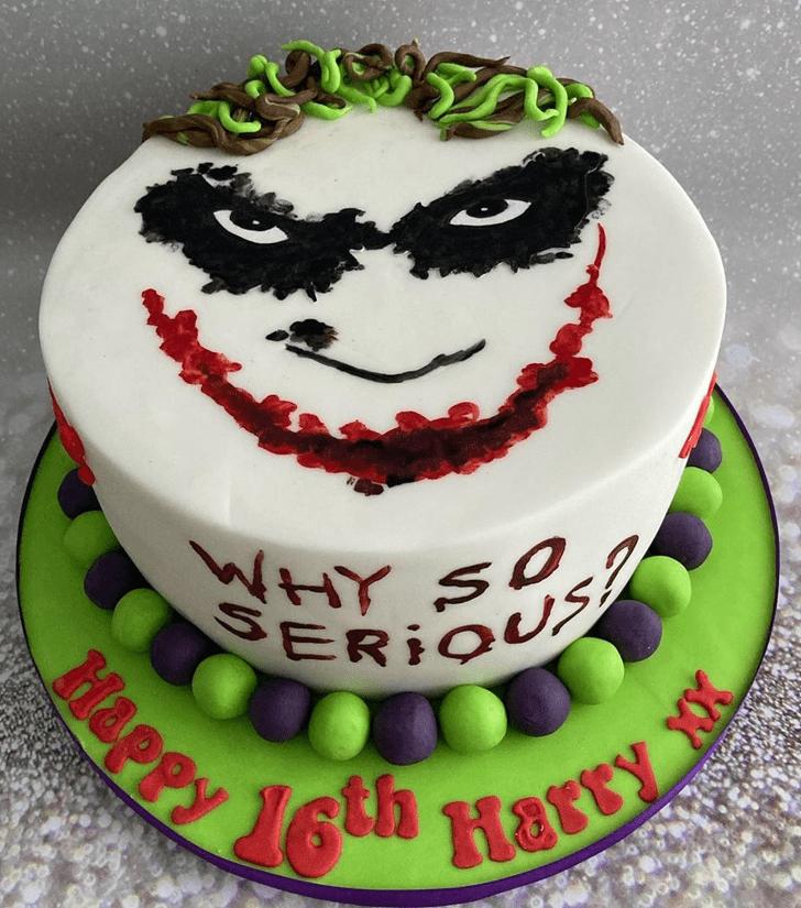 Ravishing Joker Cake