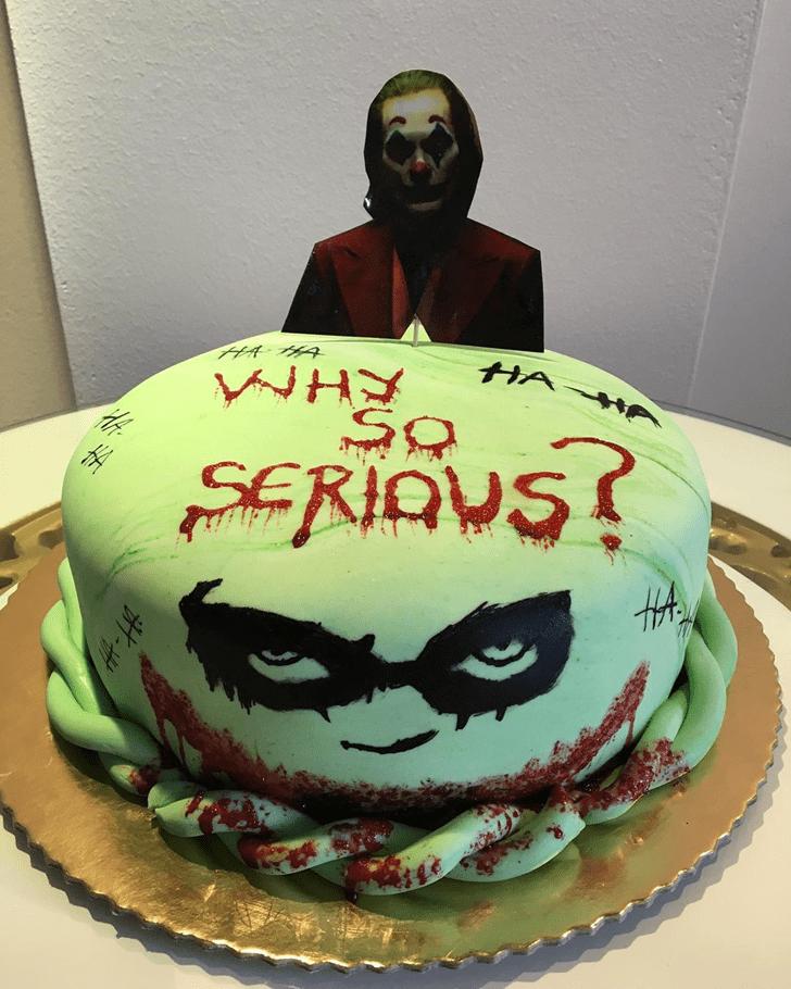 Resplendent Joker Cake