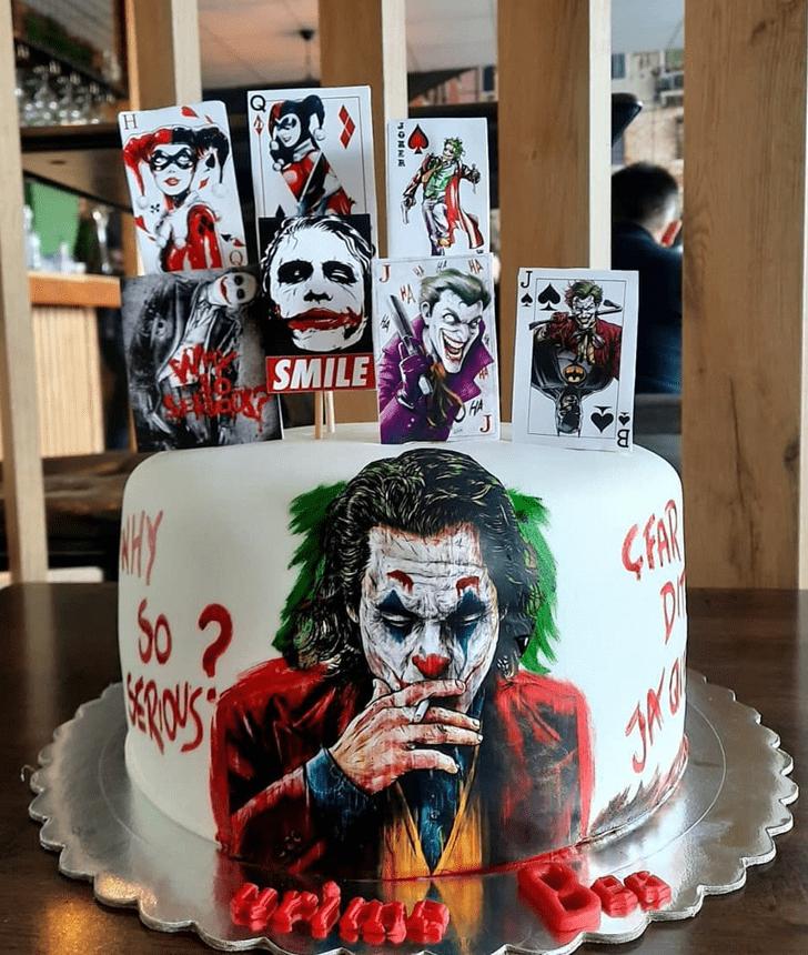 Splendid Joker Cake
