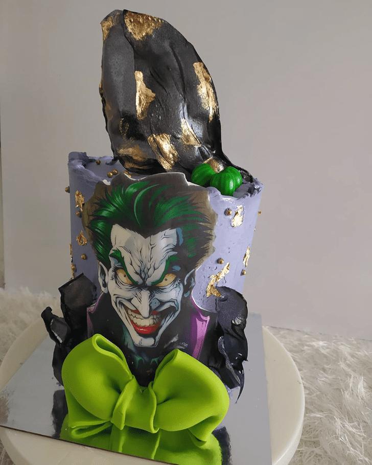 Stunning Joker Cake