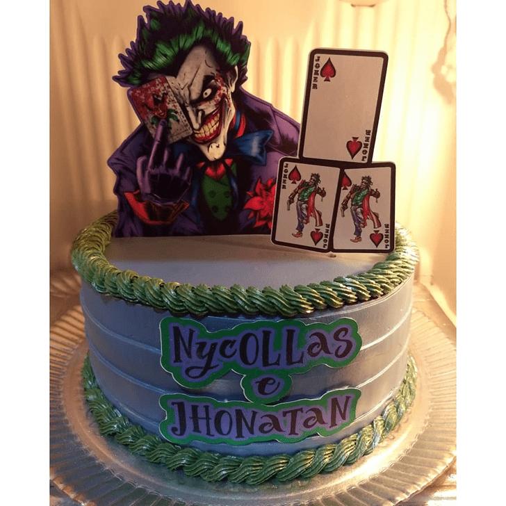 Superb Joker Cake