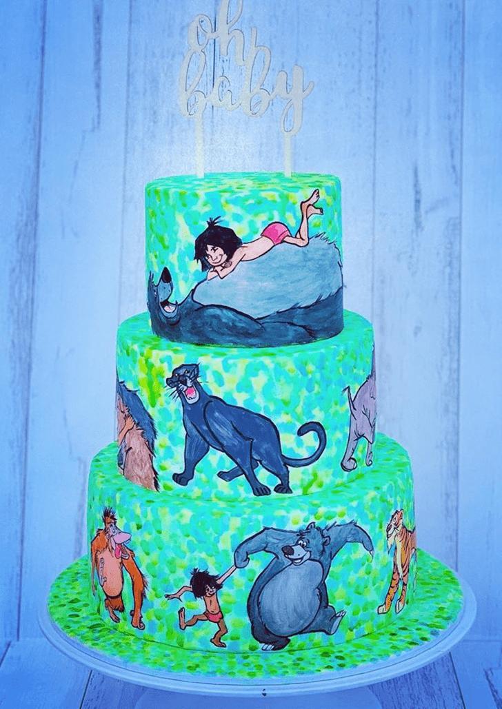 Adorable Jungle Book Cake