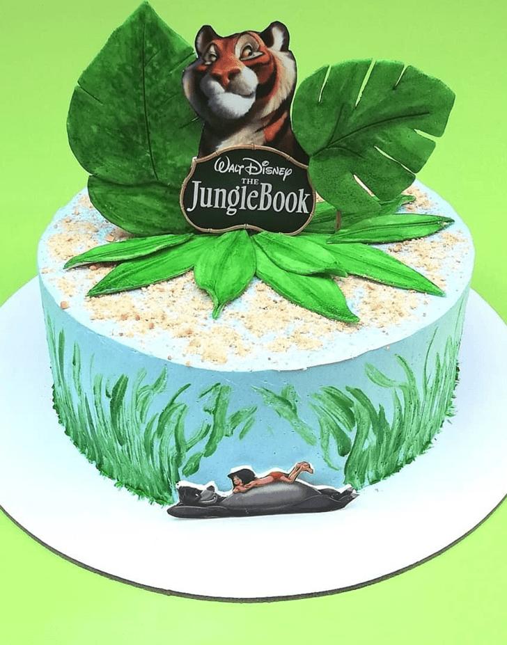 Angelic Jungle Book Cake