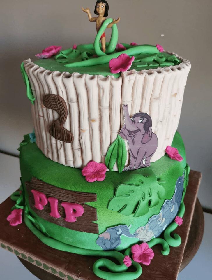 Beauteous Jungle Book Cake