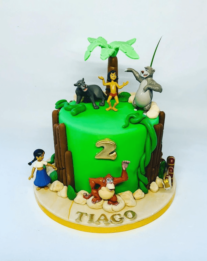 Bewitching Jungle Book Cake