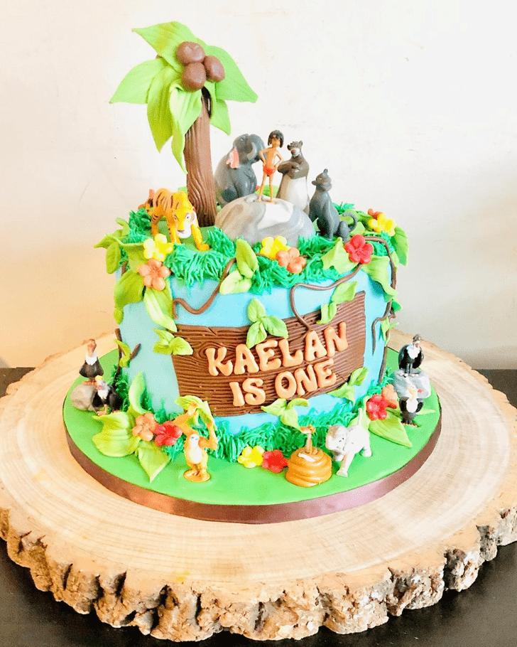 Dazzling Jungle Book Cake