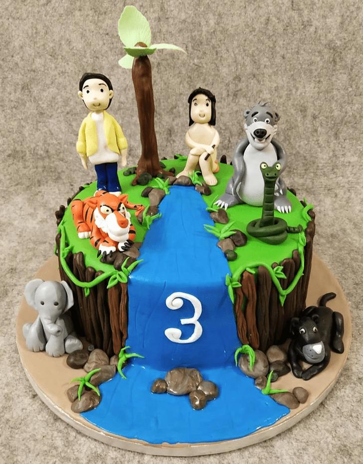 Delightful Jungle Book Cake