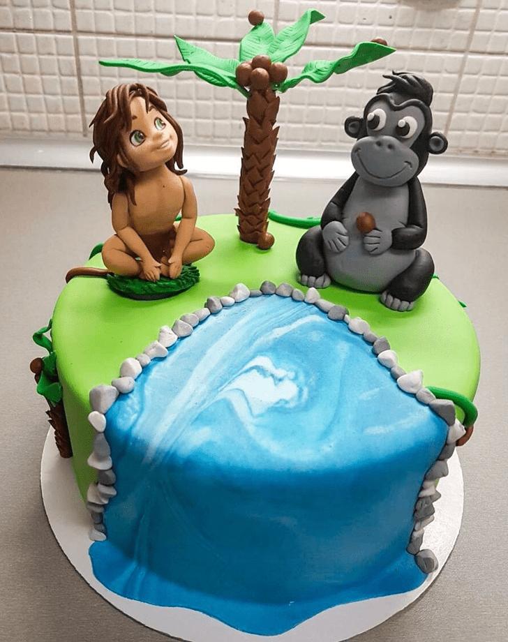 Enticing Jungle Book Cake