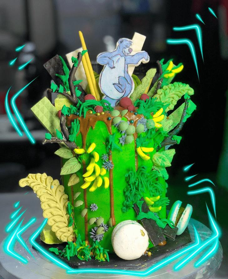 Exquisite Jungle Book Cake