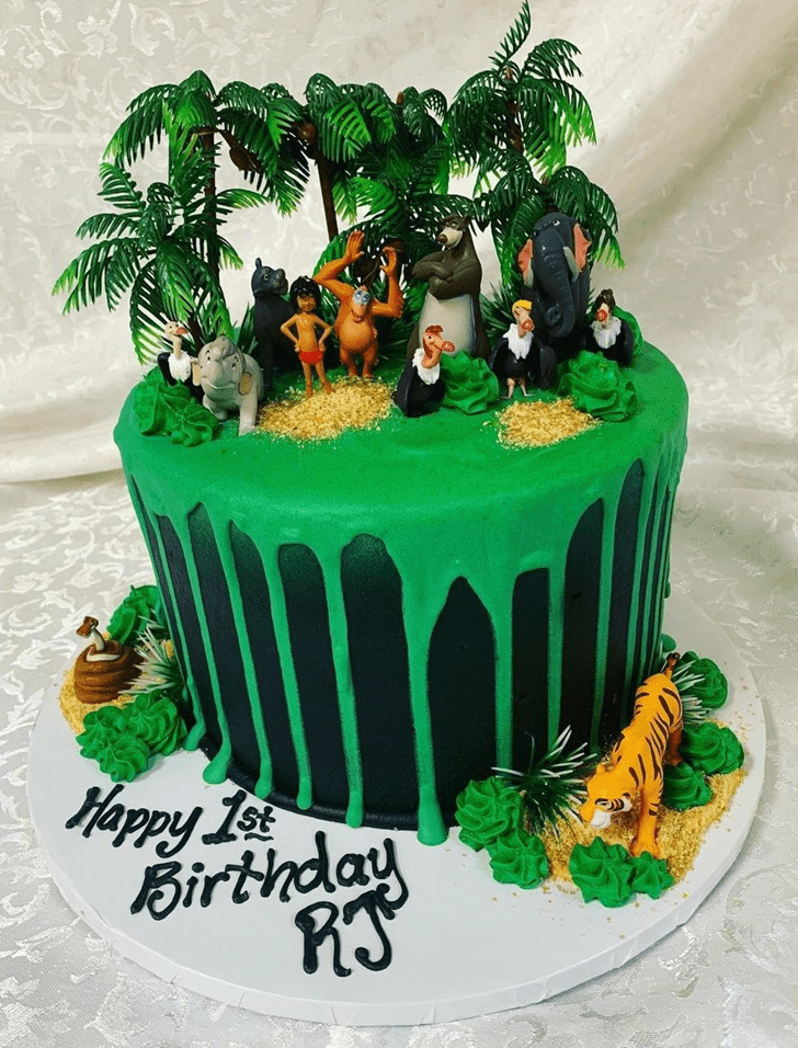 Fair Jungle Book Cake