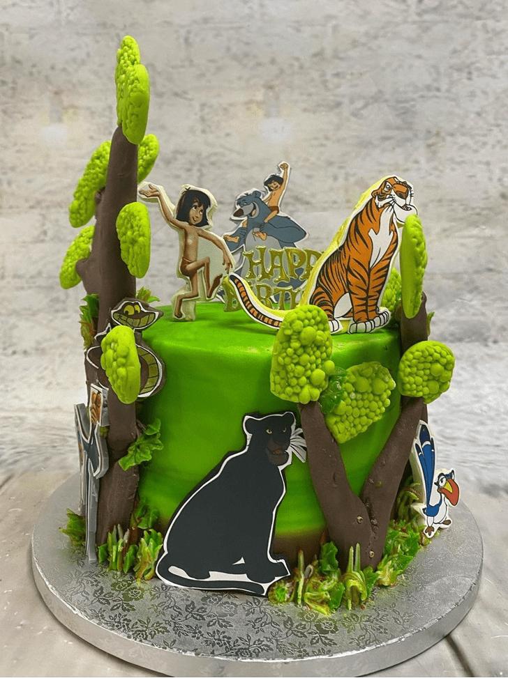 Fetching Jungle Book Cake