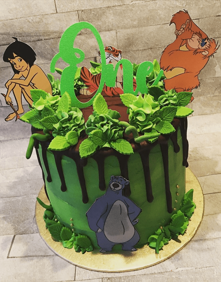 Fine Jungle Book Cake