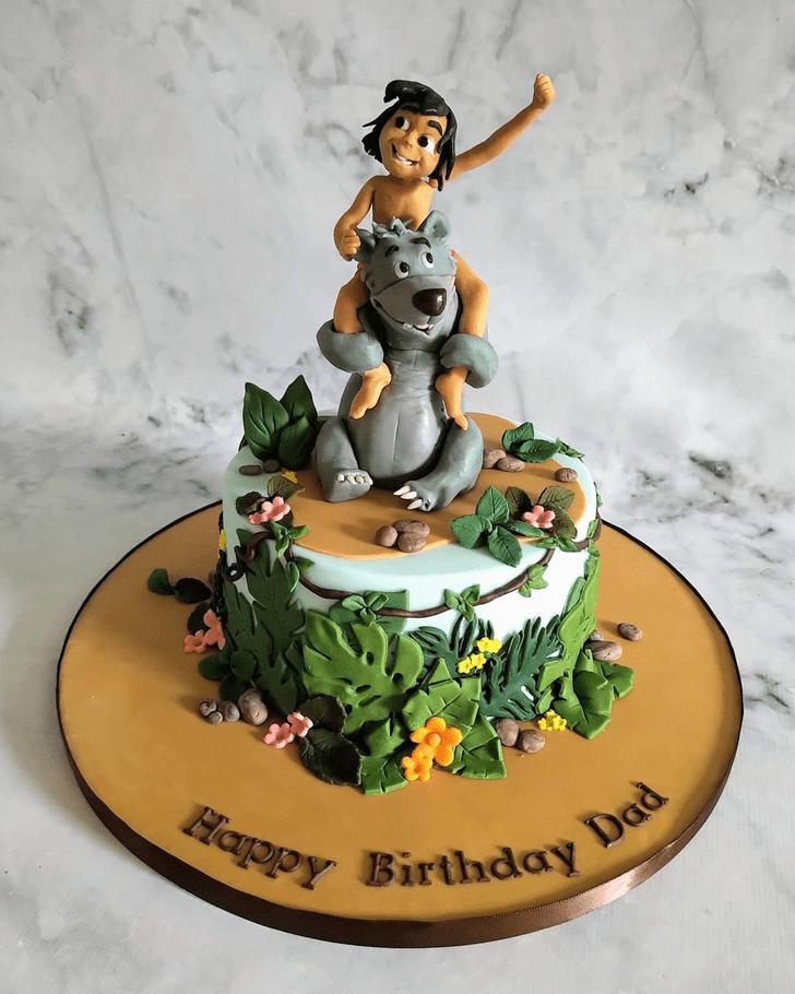 Good Looking Jungle Book Cake